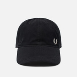 Кепка Fred Perry Pique Classic Black/White фото- 0