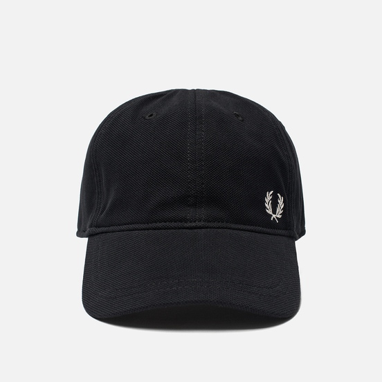 Кепка Fred Perry Pique Classic Black/White
