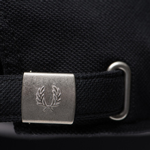 Кепка Fred Perry Pique Classic Black/White фото- 3