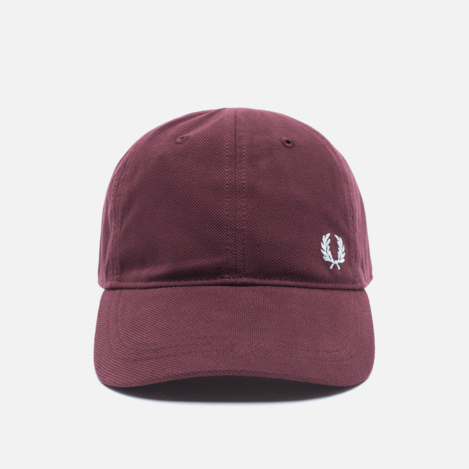 Мужская кепка Fred Perry Pique Classic Maroon