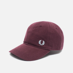 Мужская кепка Fred Perry Pique Classic Maroon фото- 1