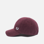 Мужская кепка Fred Perry Pique Classic Maroon фото- 2