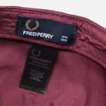 Fred Perry Pique Classic Men's Cap Maroon photo- 5