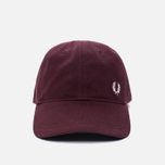 Мужская кепка Fred Perry Pique Classic Port фото- 0