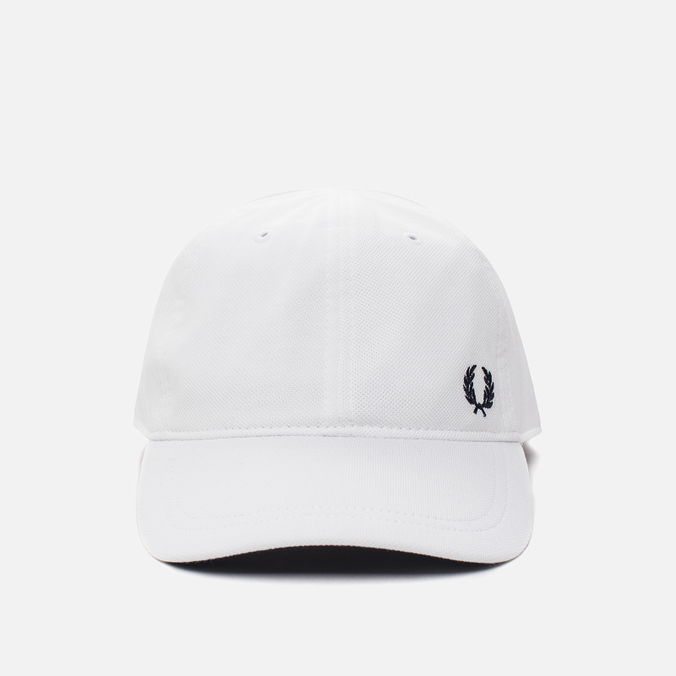 Мужская кепка Fred Perry Pique Classic White
