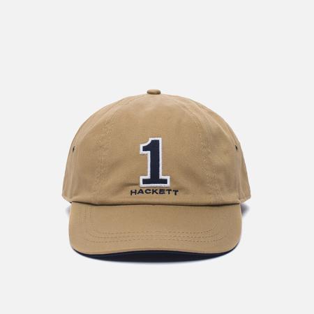 Мужская кепка Hackett Number Sand