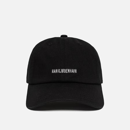 Мужская кепка Han Kjobenhavn Cotton Logo Black