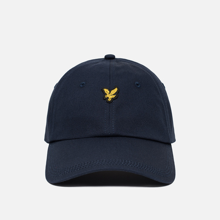 Мужская кепка Lyle & Scott Baseball Badge Logo Dark Navy