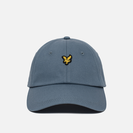Мужская кепка Lyle & Scott Baseball Badge Logo Mist Blue