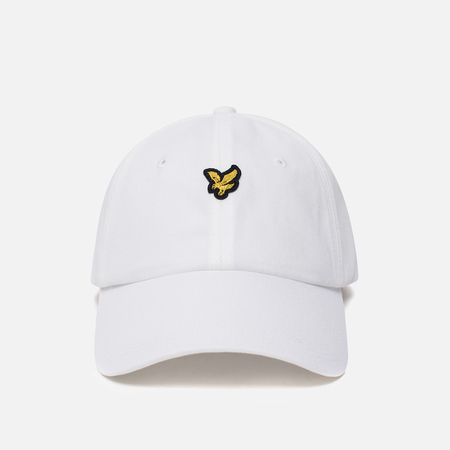 Мужская кепка Lyle & Scott Baseball Badge Logo White