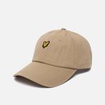 Мужская кепка Lyle & Scott Baseball Badge Logo Dark Sand фото- 1