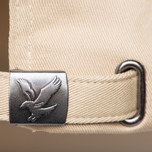 Мужская кепка Lyle & Scott Baseball Badge Logo Dark Sand фото- 3
