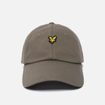 Мужская кепка Lyle & Scott Baseball Badge Logo Khaki фото- 0