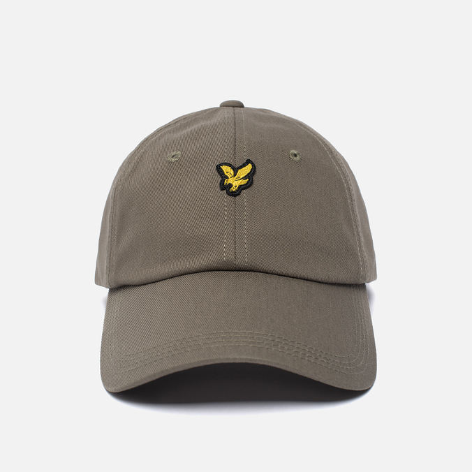 Мужская кепка Lyle & Scott Baseball Badge Logo Khaki