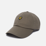 Мужская кепка Lyle & Scott Baseball Badge Logo Khaki фото- 1
