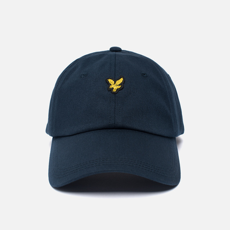 Мужская кепка Lyle & Scott Baseball Badge Logo New Navy