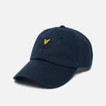 Мужская кепка Lyle & Scott Baseball Badge Logo New Navy фото- 1