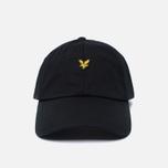 Мужская кепка Lyle & Scott Baseball Badge Logo True Black фото- 0