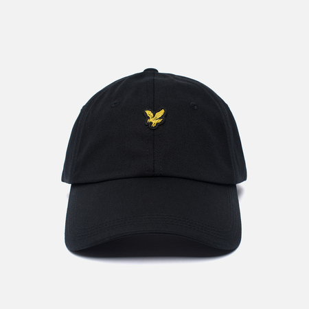 Мужская кепка Lyle & Scott Baseball Badge Logo True Black