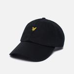 Мужская кепка Lyle & Scott Baseball Badge Logo True Black фото- 1