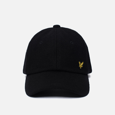 Мужская кепка Lyle & Scott Woollen True Black