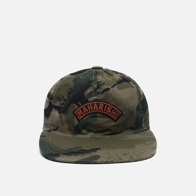 Мужская кепка maharishi Camo 6 Panel Jungle Camouflage