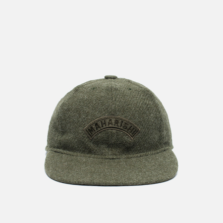Мужская кепка maharishi Harris Tweed 6 Panel Olive