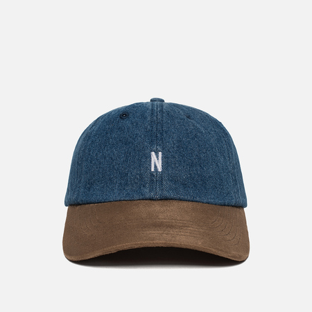 Мужская кепка Norse Projects Denim Sports Light Indigo