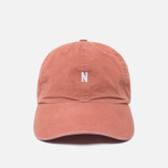 Мужская кепка Norse Projects Light Twill Sports Fusion Pink фото- 0