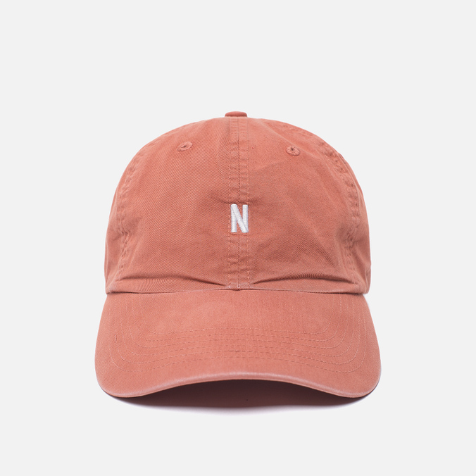 Мужская кепка Norse Projects Light Twill Sports Fusion Pink
