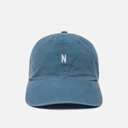 Мужская кепка Norse Projects Light Twill Sports Marginal Blue