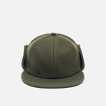 Мужская кепка Norse Projects Melton Earflap 6 Panel Dried Olive фото- 0