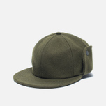 Мужская кепка Norse Projects Melton Earflap 6 Panel Dried Olive фото- 1