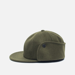Мужская кепка Norse Projects Melton Earflap 6 Panel Dried Olive фото- 2