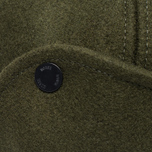 Мужская кепка Norse Projects Melton Earflap 6 Panel Dried Olive фото- 3