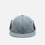 Мужская кепка Norse Projects Melton Earflap 6 Panel Mouse Grey фото- 0