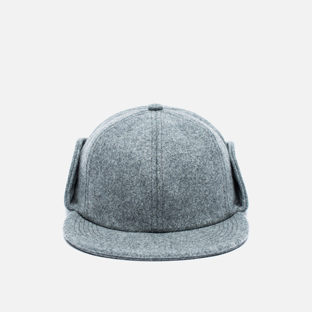 Мужская кепка Norse Projects Melton Earflap 6 Panel Mouse Grey
