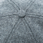 Мужская кепка Norse Projects Melton Earflap 6 Panel Mouse Grey фото- 4
