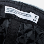 Мужская кепка Norse Projects Melton Earflap 6 Panel Mouse Grey фото- 5