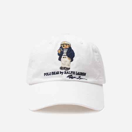 Кепка Polo Ralph Lauren Classic Sport Big Bear Logo White