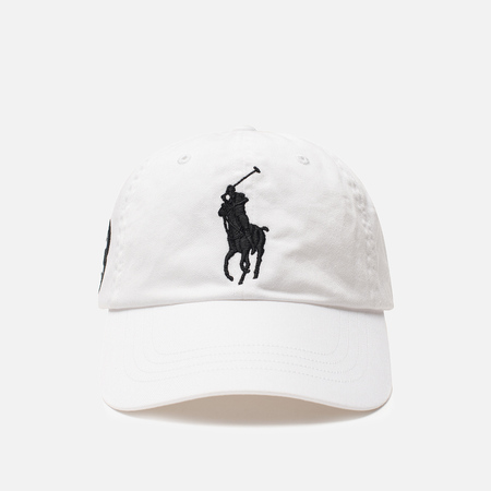 Мужская кепка Polo Ralph Lauren Classic Sport Embroidered Logo White
