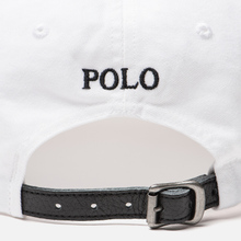 Кепка Polo Ralph Lauren Classic Sport Embroidered Logo White фото- 4
