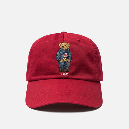 Кепка Polo Ralph Lauren Jean Jacket Polo Bear Eaton Red
