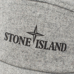 Мужская кепка Stone Island 5 Panel Reflective Logo Grey фото- 3