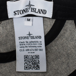 Мужская кепка Stone Island 5 Panel Reflective Logo Grey фото- 5