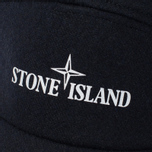 Мужская кепка Stone Island 5 Panel Reflective Logo Marine Blue фото- 3
