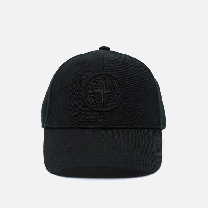 Мужская кепка Stone Island Classic Logo Black
