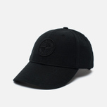 Stone Island Classic Logo Men's Cap Black photo- 1