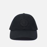 Мужская кепка Stone Island Compass Embroidery Front Black фото- 0