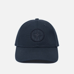 Мужская кепка Stone Island Compass Embroidery Front Navy Blue фото- 0